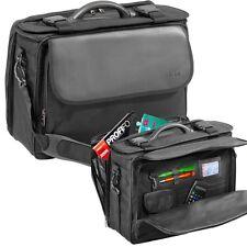 Pilotenkoffer Koffer Aktentasche schwarz FLIGHT-CASE Polyester sehr leicht