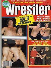 THE WRESTLER MAY 1979 HARLEY RACE RICKY STEAMBOAT BRUISER BRODY (GOOD) WWE WWF
