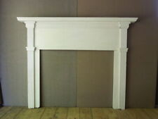 American 19th Hand Made Fireplace Mantle, Overall- 54 X 68