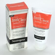 Neutrogena  Rapid Clear  Stubborn Acne Daily Leave-On Mask 2 oz 56g Discontinued