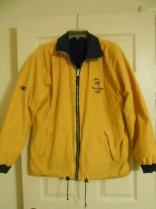 RARE SYDNEY 2000 OLYMPIC SAILING JACKET LINE 7 MILLENNIUM COLLECTION X SMALL HTF