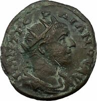 GORDIAN III 238AD Nicaea Bythinia Ancient Roman Coin Legionary STANDARDS i36751