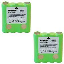 2-Pack Hqrp Pila para Cobra PR135 PR240 PR245 PR250-WX-C PR255-VP
