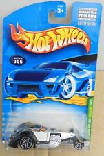 2001 01 T HUNT TREASURE HAMMERED COUPE ROD RAT # 6 HW HOT WHEELS