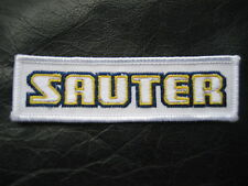 SAUTER EMBROIDERED SEW ON PATCH