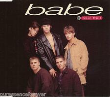 TAKE THAT - Babe (UK 4 Track CD Single Part 1)
