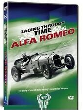 RACING THROUGH TIME - ALFA ROMEO - 1920s 1930s Formula 1 Grand Prix - NEW DVD