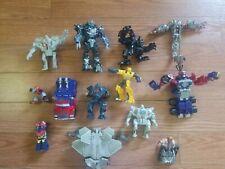 Vintage lot 13 Transformers HASBRO, Optimus Prime, Robot Heroe Figures 2006-2008