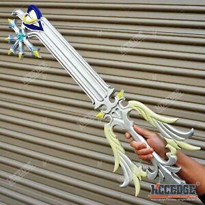 """34.5"""" Kingdom Hearts Sora Foam Oathkeeper Keyblade Halloween Foam Prop Replica"""