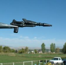 NICE 1983 Major Bludd BLACK Gun Pistol Laser Vintage Weapon/Accessory GI Joe