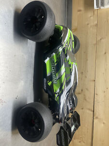 Team Corally Shogun XP 4WD Truggy 6S Brushless RTR, Scale 1/8 Used Mint - Arrma