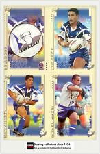2003 Select NRL XL Series Trading Card Base Team Set Bulldogs (12)