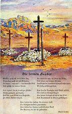 Kolonialkriegerdank Soldatengräber in Südwestafrika 1916