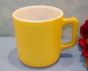 Hazel Atlas Child's Milk Mug Yellow