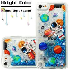 For iPod Touch 5th & 6th Generation Soccer Ball Liquid Waterfall Skin Case Cover