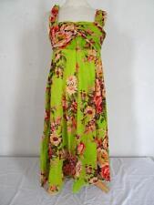 BELLO vestito con fiori verde misura UK 8 136 G