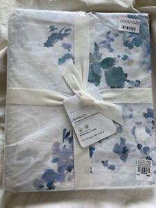 Pottery Barn Kinsley Organic Cotton Shower Curtain NEW
