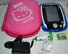 LeapFrog LeapPad 2 Tablet Hello Kitty Case, Skin, Dora Game, Car & A/C Adapter