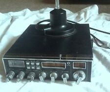 MIRAGE 6600 AM/FM FULL CHANNEl CB RADIO MICROPHONE LITTLE WIL ANTENNA WORKS GOOD