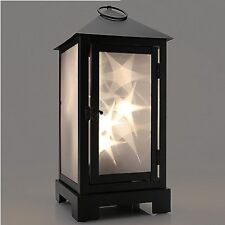 """Magnavox Led Lantern with Frosted Glass: Great Visual Effect, 15"""""""