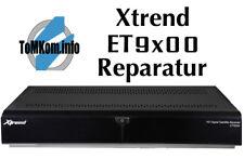 Reparatur-Pauschale Xtrend ET9200 Receiver defekt.Wenn nur noch die LED blinkt!
