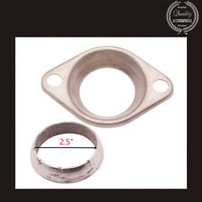 "BRAND NEW Universal 2.5"" COLLECTOR FLANGE & DONUT GASKET HEADER Stainless Steel"