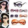 Women Ladies Oversize Vintage Sunglasses Retro Glasses Eyewear Fashion Designer