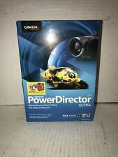 CyberLink PowerDirector v11 Ultra Video Editing Pro Video Production Complete