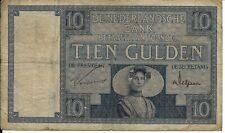 10 Gulden Januar 1929 Zeeuws Meisje