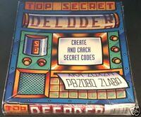 TOP SECRET DECODER 1995 RARE Macintosh Apple MAC CD-Rom Game NEW Factory Sealed