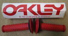 2010 Oakley B-1B BMX Grips Red