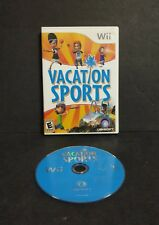 Vacation Sports (Nintendo Wii, 2009) No Manual