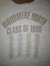 Rare Vintage Class of 1980 Woodmere North School T shirt, S//M cougars