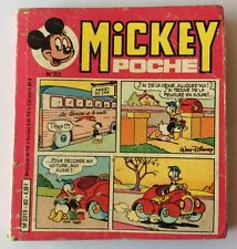 MICKEY POCHE n° 82 de Novembre 1981 Album BD Walt Disney