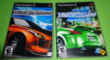 Empty Replacement Cases!    Need for Speed: Underground 1 + 2 PS2 Playstation 2