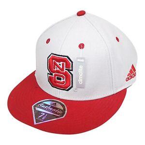 NC State Wolfpack NCAA Adidas Men's Gray/Red Baseball Cap