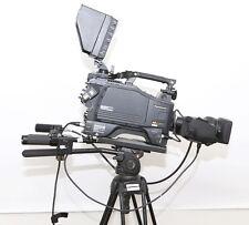 """Panasonic AK-HC931P HD SDI 720P 2/3"""" Studio camera W/ Rear controls & tripod"""