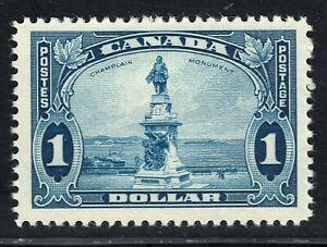 King George V Pictorial Issue Scott's # 227 $1.00 Blue MVLH CV $100.00 US