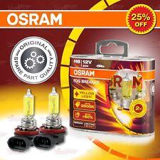 H8 OSRAM FOG BREAKER 2600K GELB Yellow Look Scheinwerfer Lampe (x2) 62212FBR-HCB