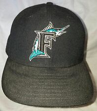 New Era Authentic Diamond Collection Florida Marlins Fitted Hat Cap 7 5/8L