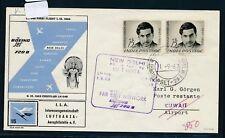 12537) LH FF Delhi Indien - Kuwait 1.9.63, sp.cover
