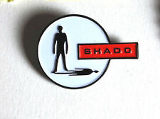 "UFO TV Series SHADO Logo Cloisonne  Metal Pin 1.25""- FREE S&H"