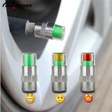 4X Car Tyre Tire Pressure Gauge Indicator Alert Tpms Monitoring Valve Cap Sensor