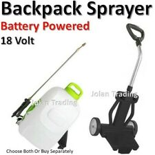 Knapsack Battery Powered Lithium Sprayer 18 Volt Heavy Duty Rechargeable Trolley