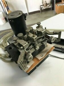 LINCOLN LN-10 WIRE DRIVE CONTROL, WIRE FEEDER AND FLOW STREAM LOT