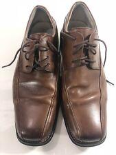 Florsheim Mens 11256-200 Brown Leather Oxford Lace Up Shoes Size 10D