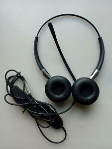 Jabra BIZ 2400 Duo Noise Cancelling Headset 2409-820-104 + GN 1221 Sound Limiter