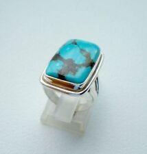 Ring mit Türkis, 925er Silber, Gr.16,2 - echt -