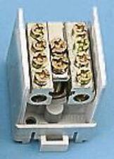 4x MERLIN GERIN BLOCCO DI MORSETTI Relè 25mm UNI c60h SERIE 14936