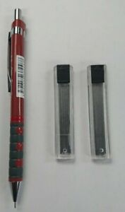 Rotring Tikky Pencil (Red Barrel)  0.5mm WITH FREE 24 x  HB  LEADS- FREE POSTAGE